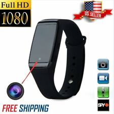 1080P HD SPY Cam DVR Hidden Camera Wrist Watch Bracelet Video Recorder Max 32G