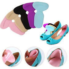 2X Gel High Heel Liner Grip Back Shoe Insole Pad Foot Protector Cushion Pairs UK
