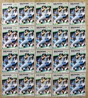 Mark McGwire 1989 Fleer #17 Oakland Athletics 20ct Card Lot