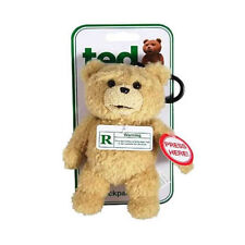 Talking Ted Movie BackPack Buddy Keyring - Key Chain - R-Rated CLEAN Version