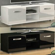 Cosmo TV Stand Cabinet Unit 2 Door Modern Gloss Matte MDF Entertainment 120cm