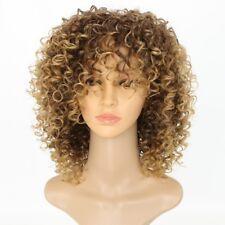 Parrucca Africani Riccia Afro-americana Parrucca Moda Riccio Wig Donne Parrucca