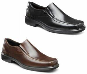ECCO Helsinki Men's Bike Toe Slip On Leather Loafer Comfort Dress Shoes 050134