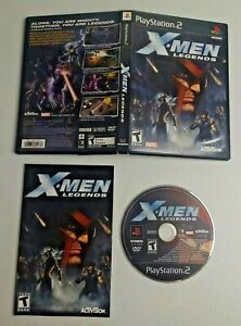 X-Men Legends (Sony PlayStation 2, 2004) Complete TESTED