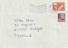 2002 Denmark cover from Sydjyllands to Bielefield Germany