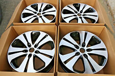 "4 x Genuine Kia Sportage 18"" Alloy Wheels, Black Diamond Cut Winter Optima"