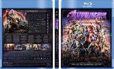 DC / Marvel Avengers X-Men Batman Custom Blu-ray Covers w/ EMPTY case