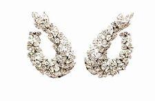 DIAMOND EARRING PEAR ROUND BRILLIANT MARQUISE SHAPE SET DIAMOND EARRING