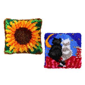 DIY Latch Haken Kit Teppich Teppich Machen Handwerk für Kinder Erwachsene