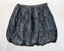 JINAVA Brand Silver Shiny Bubble Skirt Size S BNWT #TP39