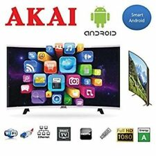"OFFERTISSIM BELLISSIMO SMART TV AKAI A LED 49"" CURVED ""STUPENDO"""