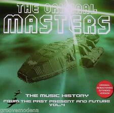 THE ORIGINAL MASTERS From the Past Present & Future Vol 4 EXTENDED TRACKS CD NEW