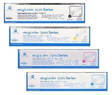4 Toner Konica Minolta Magicolor 7400 7450/8938-621 8938-622 8938-623 8938-624