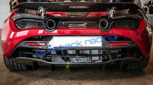 Mclaren 720s Carbon Fiber Complete Rear Bumper Diffuser (upper and lower)
