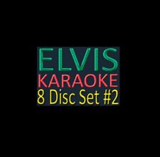 KARAOKE CDG  ELVIS MUSIC MAESTRO  8   DISCS  122  SONGs