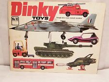 DINKY TOYS CATALOG No 10 1974 - Printed in West Germany