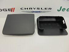 97-06 Jeep Wrangler TJ New Front Bumper Plastic End Caps Black Mopar OEM 2 Piece