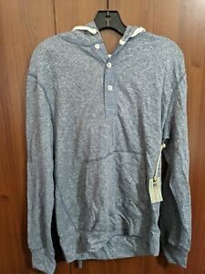 Mens Todd Snyder x Champion Hoodie M Medium NEW NWT Made in Canada Blue