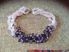 Collar Amethyst Fine Necklaces & Pendants