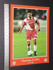 RARE ENZO SCIFO BELGIQUE BELGIË AS MONACO LOUIS II FOOTBALL CPA FRANCE 1996-1997