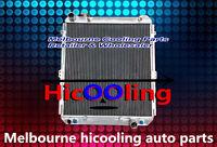 Aluminum radiator for TOYOTA HILUX SURF KZN130 1KZ-TE AT/MT 1993 1994 1995 1996