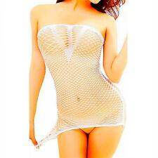 Body Big Lingerie Stocking Bodystockings Mesh Nightwear Fishnet Dress Bodysuit