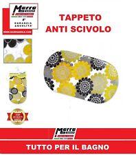 TAPPETO DOCCIA OVALE 69X39CM PISCINA BAGNATO VASCA BAGNO GRIP ANTISCIVOLO