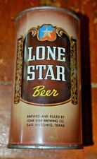 Lone Star Beer Flat Top Beer Can Nice Condition