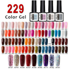 229 Colors LEMOOC Vernis à Ongles Semi-permanent UV Gels Nail Polish Manucure