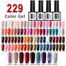 229 Colors LEMOOC Nail Art Smalto UV Gel Polish Semipermanente Soak off UV Gel