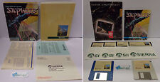 "Gioco Game Play Computer Big Box IBM PC 3.5"" 5.25"" Disks Sierra Shooter SILPHEED"