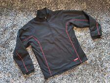 IMMACULATE - FOOTJOY BLACK & RED GOLF WIND RAIN WATERPROOF JACKET - MEDIUM