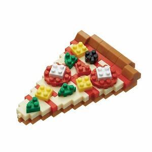 NBC244 Nanoblock PIZZA Building Blocks Mini Bricks Toy 160 pieces 12 Years+