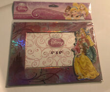 New Disney Princess Magnetic Picture Frame 4x6 Belle Cinderella Freestanding