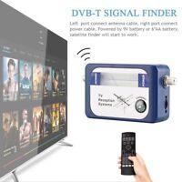 DVB-T Finder Digital Aerial Terrestrial TV Antenna Signal Strength Meter DVBT