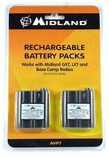 AVP7 MIDLAND Rechargeable Batteries for MDLLXT210, MDLLXT310, MDLLXT410 & GXT