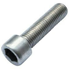 Stainless Steel A2 M4 X 25 Socket Cap Screw pack of 10