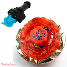 DARK BULL BB-40 BEYBLADE Masters Fusion Metal+GRIP+BLUE SPIN LAUNCHER