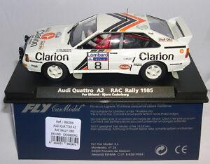 QQ fly 88285 Audi Quattro A2 #8 Rac Rally 1985 Per Eklund-Björn Cederberg
