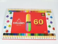 Colored pencil Art Colleen 60 Draw Dual Head Round High Quality Wood Thailand