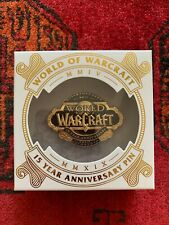 Sdcc 2019 Blizzard World Of Warcraft 15th Anniversary Collectors Edition Pin