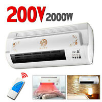 Wall mounted Heater Air Conditioner Heating 1000W/2000W 220-240V Waterproof ❤