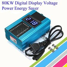 110-220V 80KW 30-50% LED Power Energy Saver Electricity Bill Killer  Saving Box