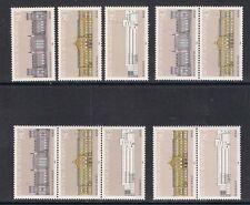 Bund  Mi. Nr. 1287 - 1289 - Zdr. a. Block 20 + Einzelmarken postfr. aus 1986 (2)
