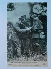 Le Prince de Galles rejoint le Régiment de Grenadiers.