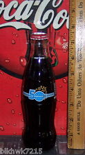 2012 WAL MART 50TH ANNIVERSARY 1962 - 2012 8 OUNCE GLASS  COCA - COLA  BOTTLE