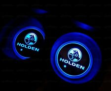 New For Holden Car Cup Bottle Holder Pad Mat Auto Atmosphere LED Lights Deco