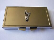Welsh Harp w32 English Pewter On Mirrored 7 Day Pill box Compact