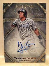 2014 Topps Five Star Yangervis Solarte RC On Card Autograph 299/499 Padres