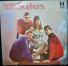 THE SEEKERS - THE FOUR AND ONLY SEEKERS VINYL LP AUSTRALIA (WRITING ON COVER)